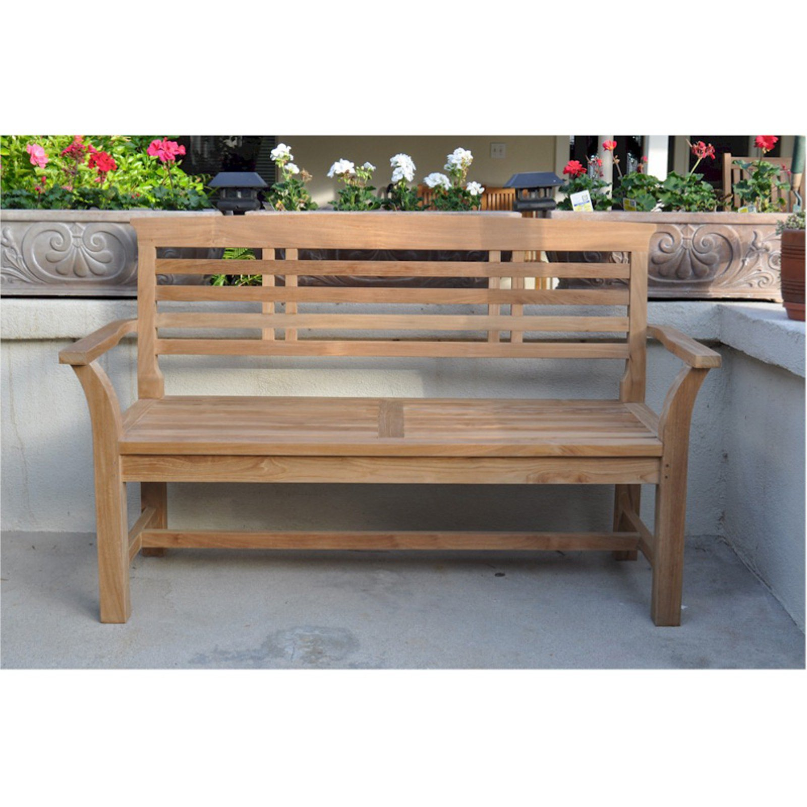 Anderson Teak Sakura 2 Seat 4.7 ft. Outdoor Bench by Anderson