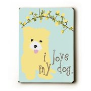 Artehouse LLC Sweet Dreams by Ginger Oliphant Graphic Art Plaque