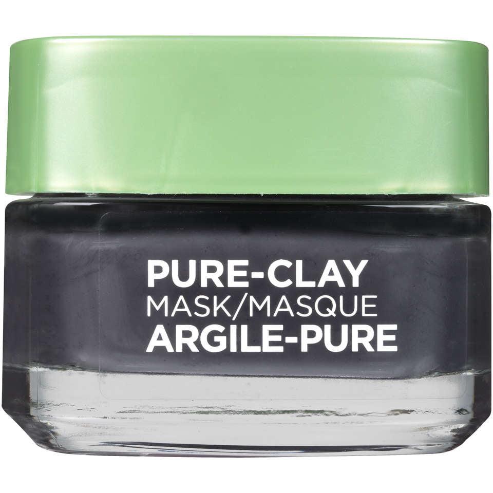 Die Oreal Paris Maske Pure Clay Detox & Aufhellen