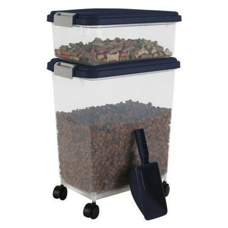 IRIS Combo Food Storage Container with Scoop, 10.8