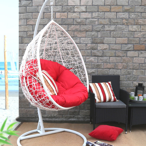 Baner Baner Garden X35 Oval Egg Hanging Patio Lounge Chai...