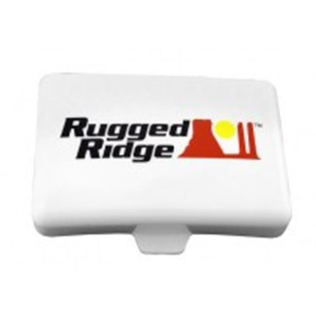 Rugged Ridge 15210.56 5-Inch x 7-Inch Rectangular Off Road Light Cover, White - image 1 of 1