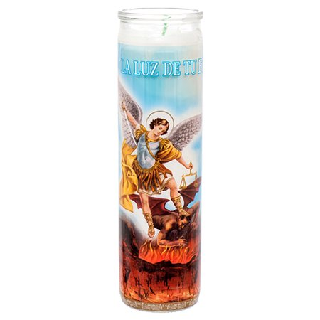 New 373149  Veladora Religious Candle San Miguel Arcangel (12-Pack) Cheap Wholesale Discount Bulk (Best Of San Miguel)