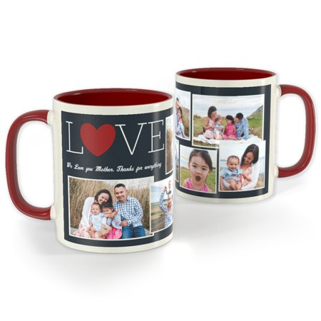 Red Photo Mug 11 oz