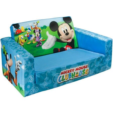 Marshmallow 2 In 1 Flip Open Sofa Disney Mickey Mouse