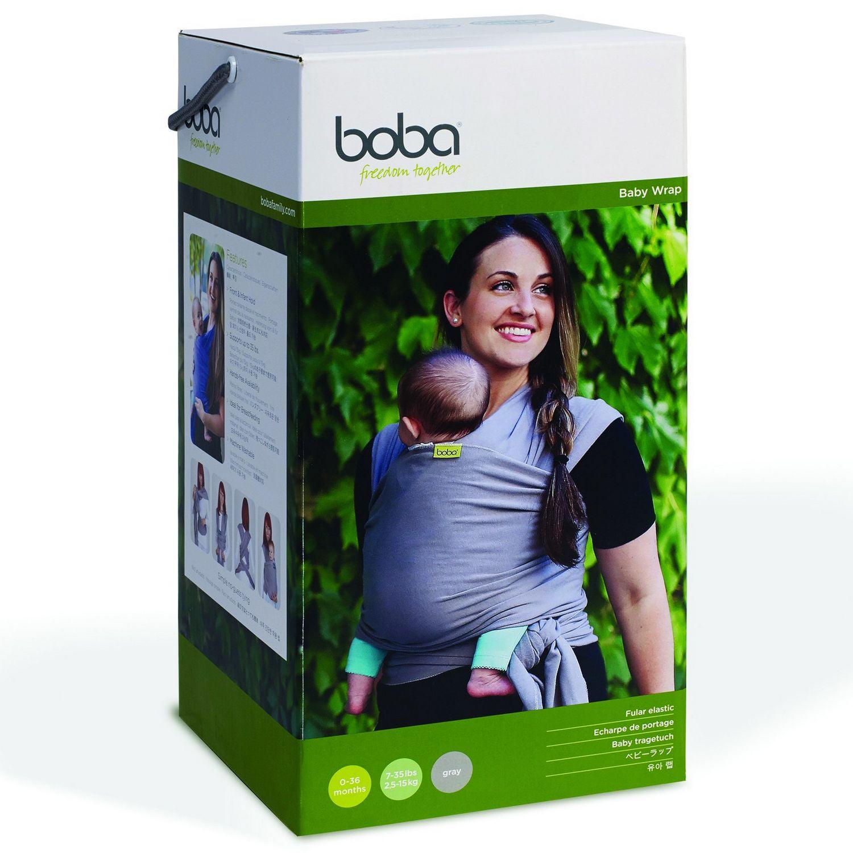 Boba Wrap Dark Gray Organic Walmart Com