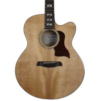 Sawtooth Spruce Jumbo Cutaway Acoustic-Electric Guitar with Flame Maple Back and Sides