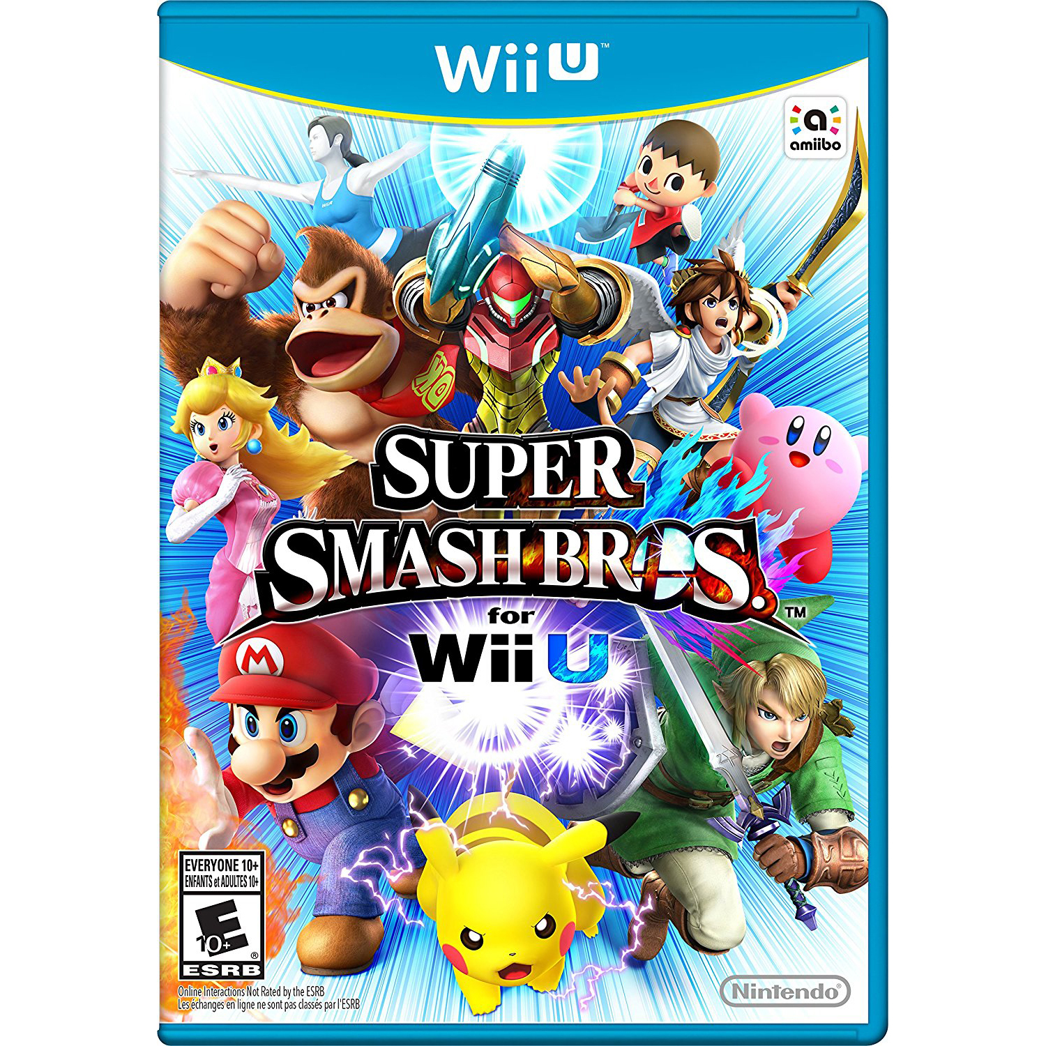 Super Smash Bros., Nintendo, WIIU, [Digital Download], 0004549666034