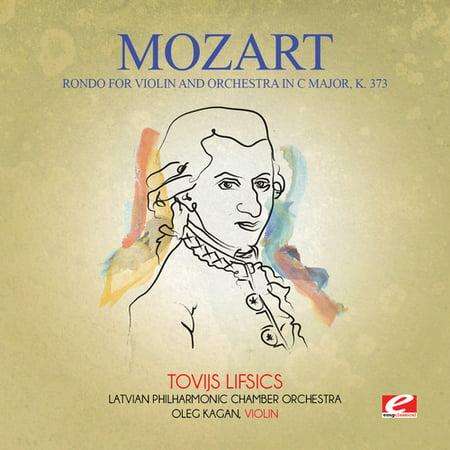 Mozart Rondo Violin (Mozart - Rondo for Violin & Orchestra in C Major K. 373 )