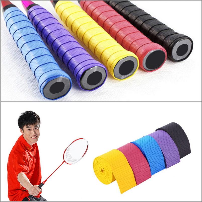 Anti slip Racket Over GripsTennis Badminton Fishing Rods Anti-slip Absorption Racket... by