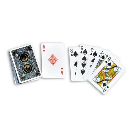 - Swimline 91451 Swimming Pool Hot Tub Waterproof Plastic Deck of Playing Cards