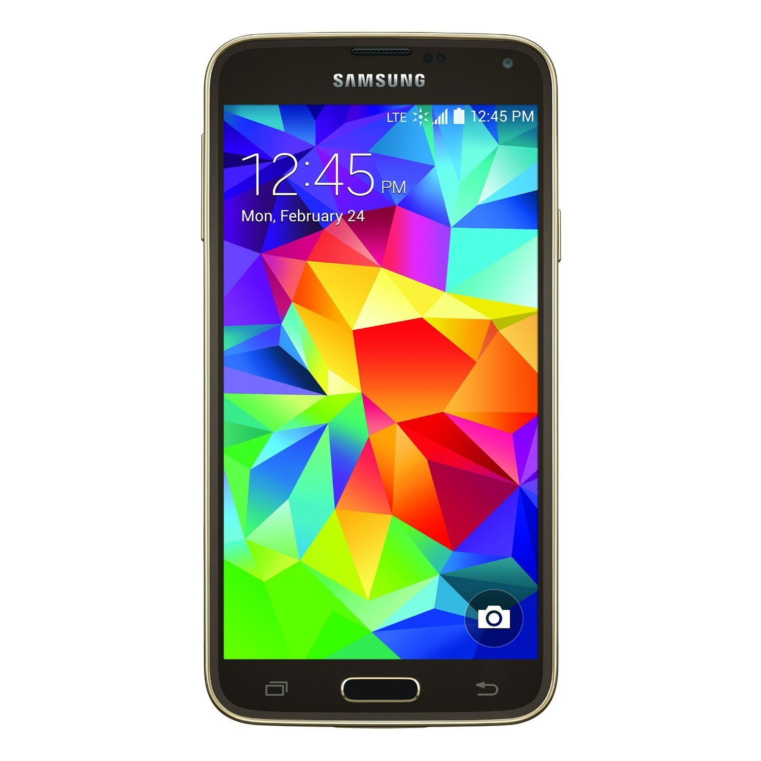Samsung Galaxy S5 G900V Verizon Wireless 5.1'' AMOLED Display 2GB RAM 16GB Internal 16MP Camera Phone - Copper Gold