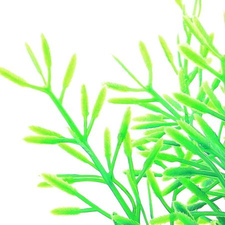 Poisson Réservoir Aquarium Plante Artificielle en Plastique décor Herbe Vert Landspace 2 PCS - image 2 de 3