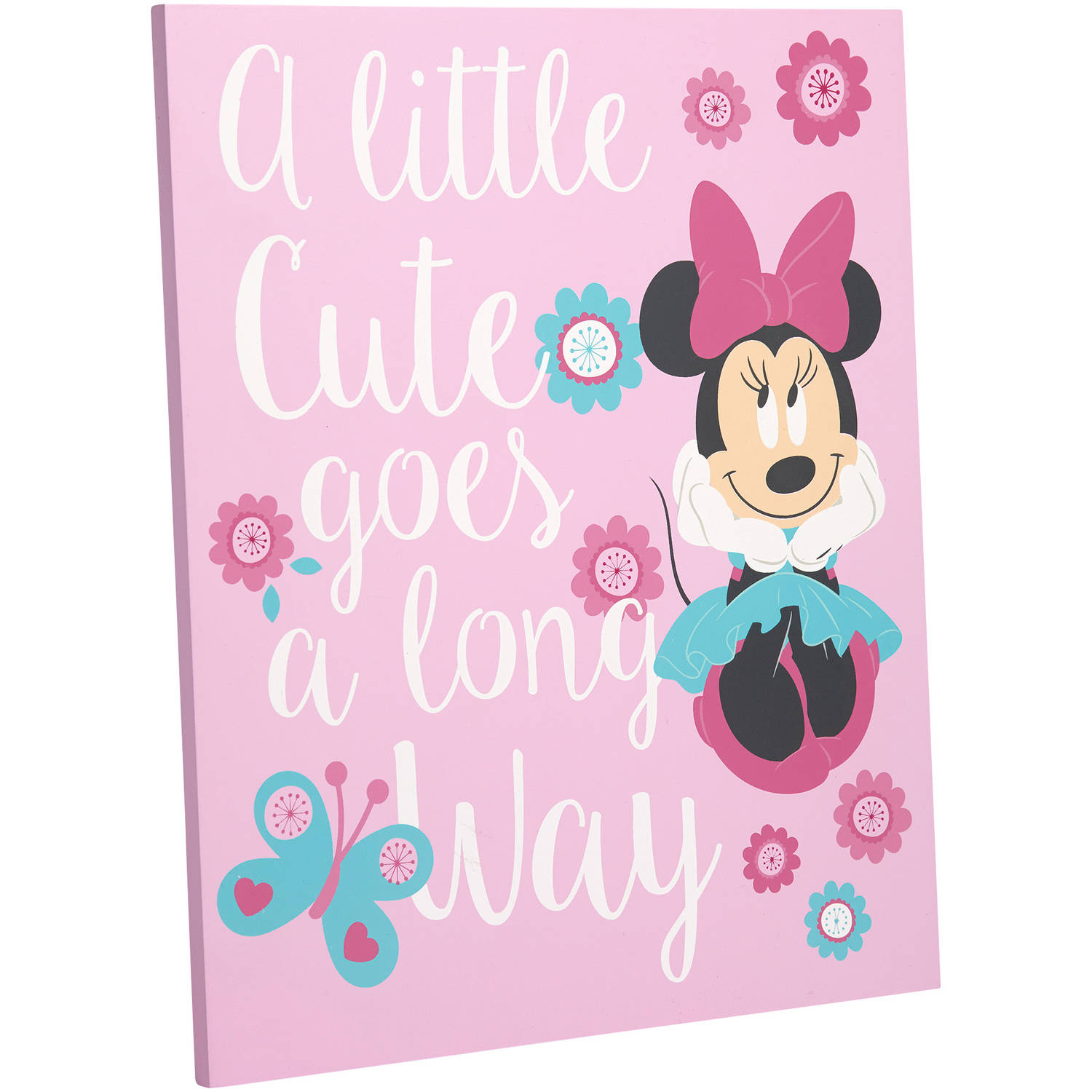 Disney Minnie Mouse Isn't She Lovely Wall Decor by Crown Crafts Infant Products, Inc.