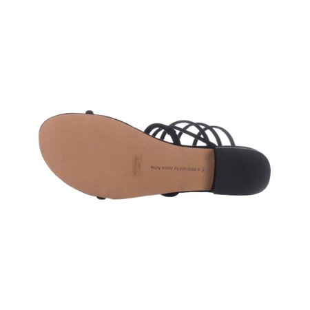 Avec Les Filles Caila Strappy Sandals, Black - image 5 of 6
