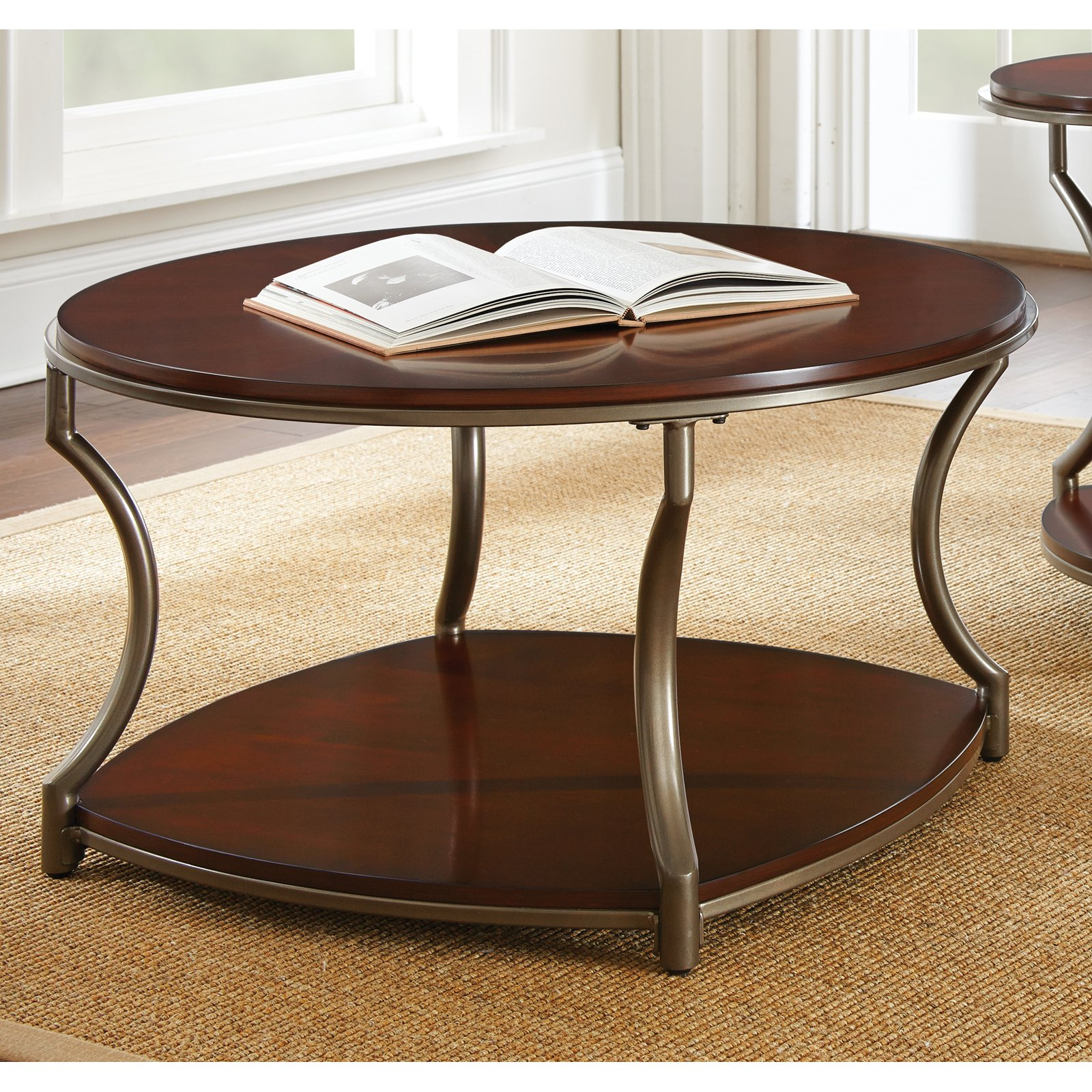 Steve Silver Maryland Cocktail Table - Medium Cherry