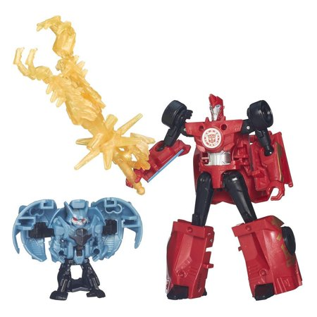 Transformers: Robots in Disguise Mini-Con Battle Packs Wave 1 - Sideswipe and Anvil