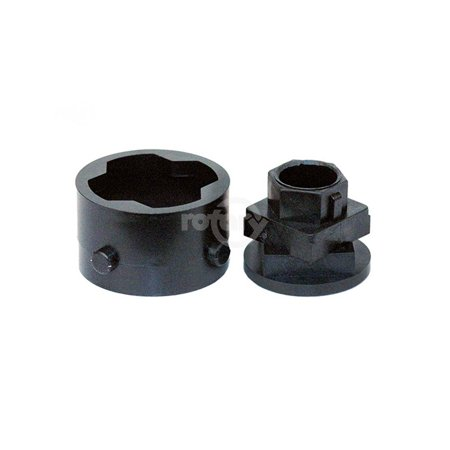 V334 Cam Assembly, Fits Rotary New Style VP33 # 10231, 10638 & 10639 Heads.  Outer Drive has 4 pins.