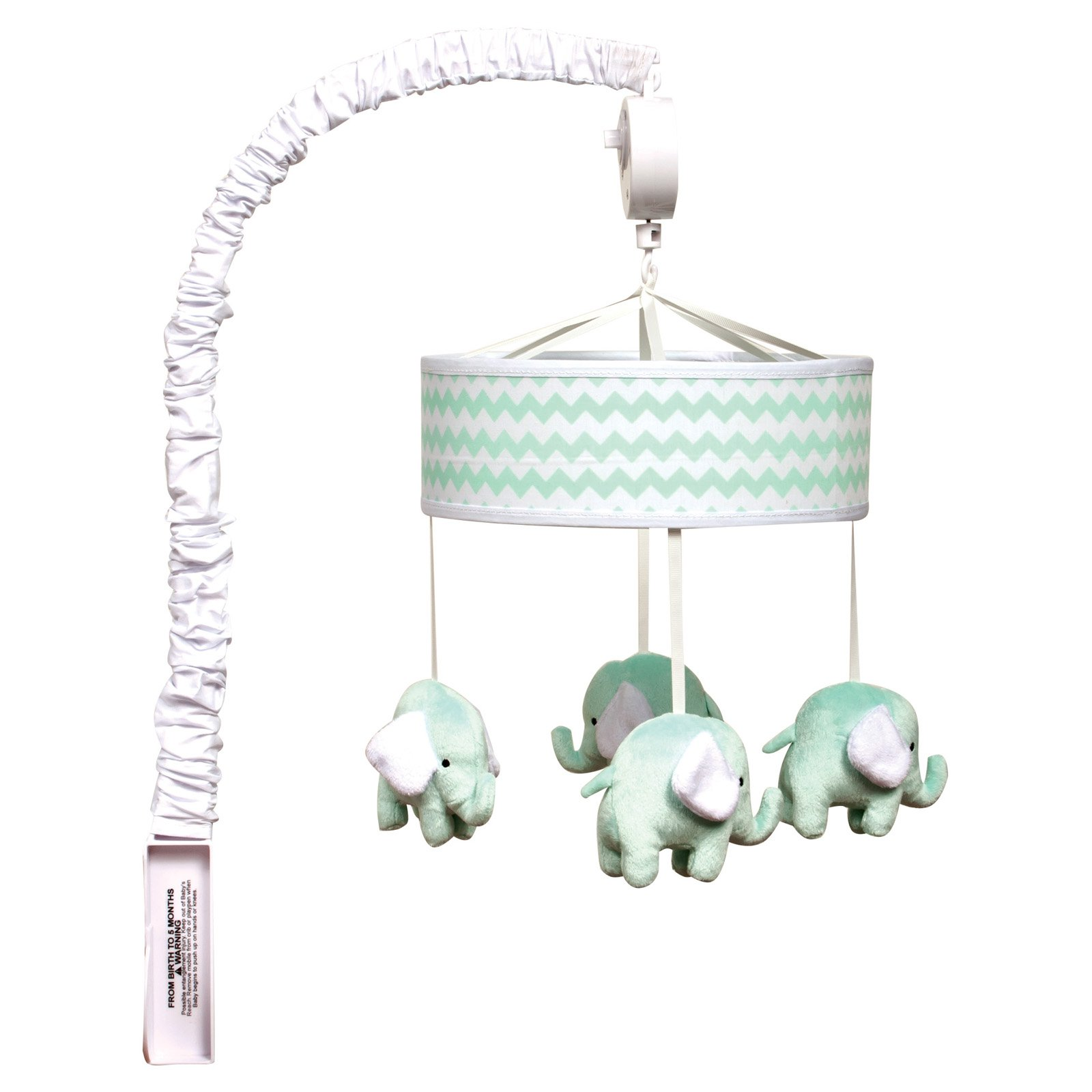 Trend Lab Mint Chevron Musical Mobile by Trend Lab