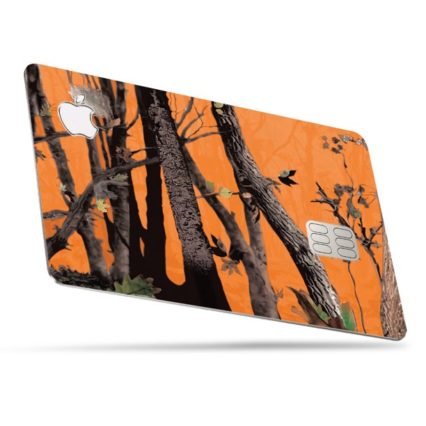 camo skin for apple card  protective durable and unique