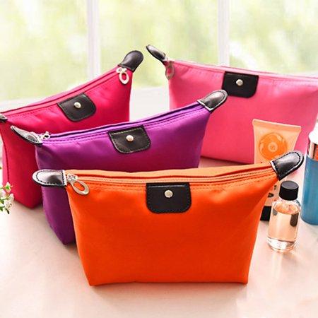Waterproof Nylon Women Makeup Cosmetic Bags Travel Beauty Toiletry Bag - image 5 of 8