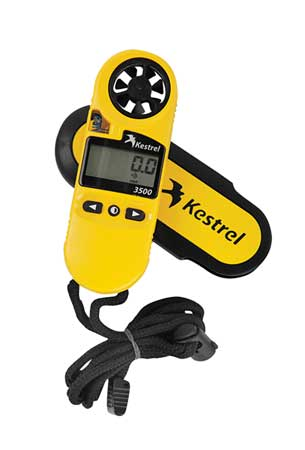 KESTREL 0835 Anemometer, 118 to 7874 fpm by Kestrel