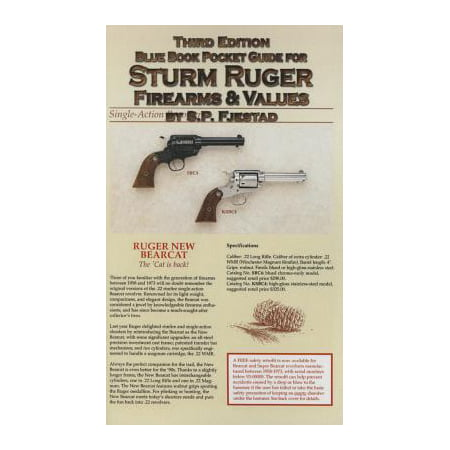 (Blue Book Pocket Guide for Sturm Ruger Firearms & Values)