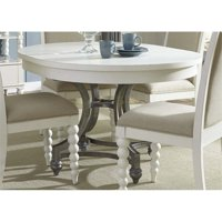 Liberty Furniture Harbor View II Round Dining Table in Linen