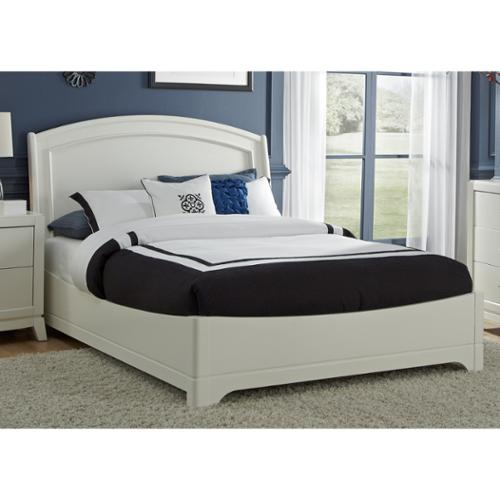 White Truffle Platform Bed Set White Truffle Queen Platform Bed Set