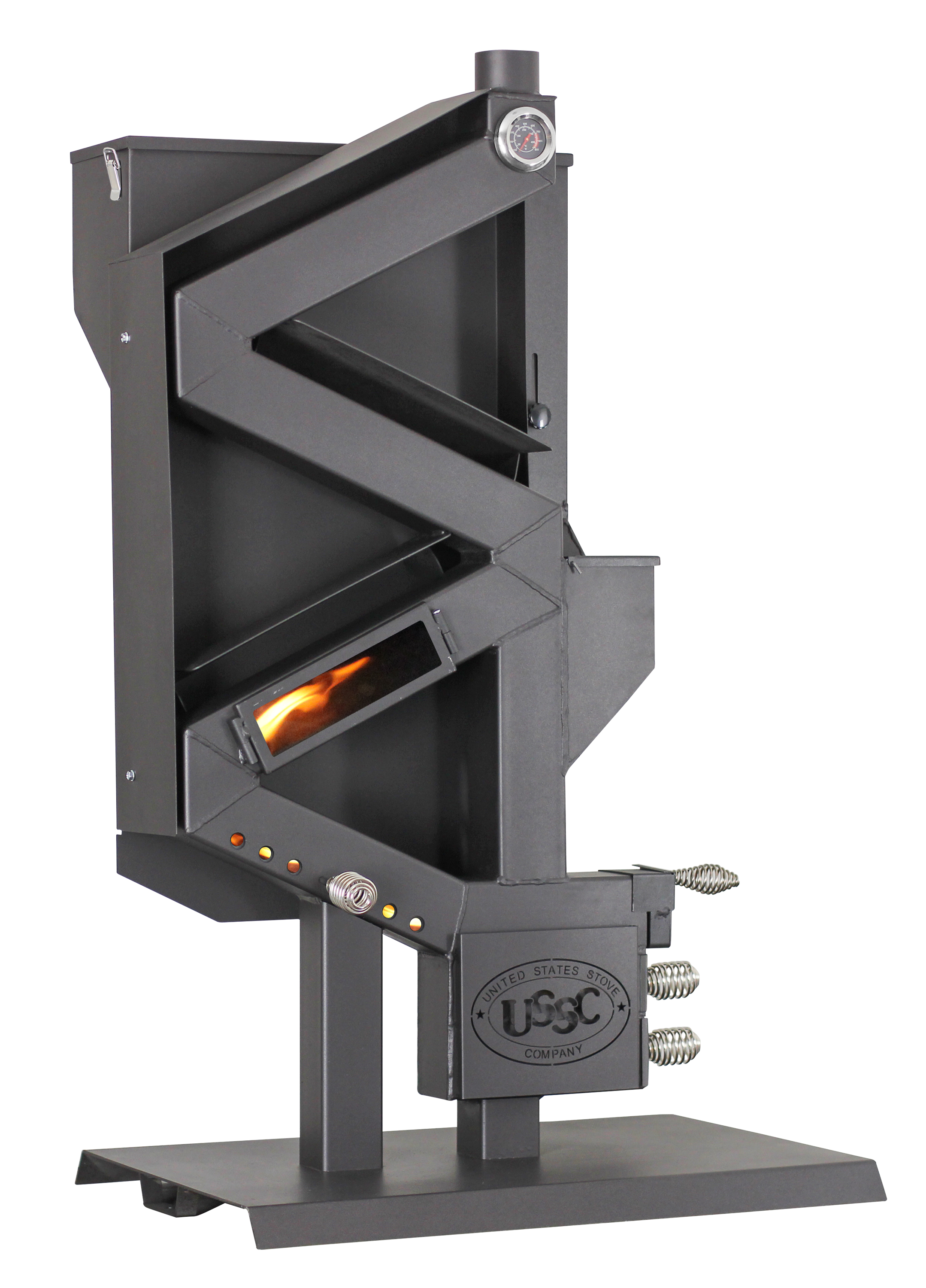 Wiseway Non-electric Pellet Stove by United States Stove Company