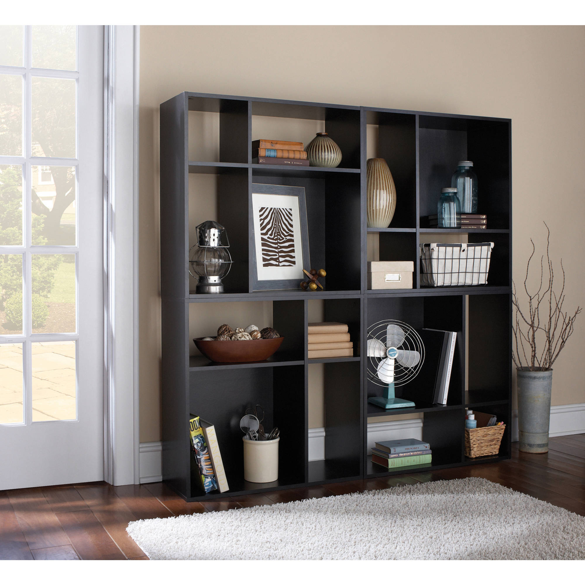 wall tier cabinet shelf organizer home closet bookcase new corner itm cube storage cubes