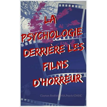 La psychologie derrière les films d'horreur - eBook