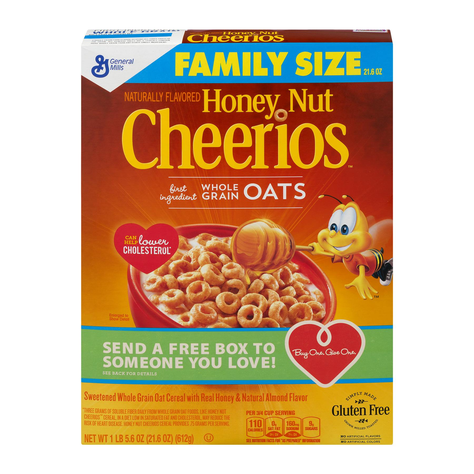 Honey nut cheerios family size