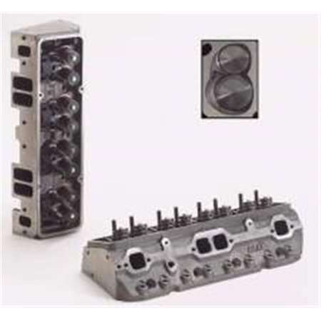 - Dart 10321111P 1.60 in. Dart Iron Eagle Platinum Cylinder Head for Small Block Chevy