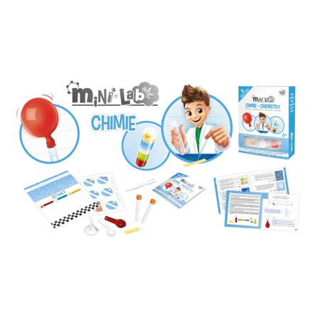 Buki Sciences Mini Lab - Chemistry Kit
