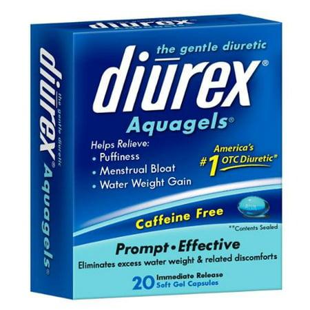DIUREX La brise Diurétique aquagels, 20 bis (Paquet de 2)