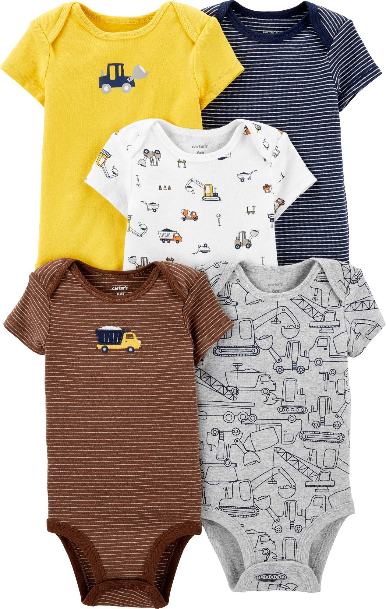 Assorted Carter/'s Baby Boys Size 6 Months Short Sleeve Cotton Shorts Romper