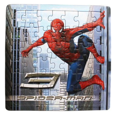 Spider Man 3 Clinging To The Side Of A Building Puzzle 42pc