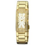 Charles-Hubert Paris Women's Paris 6770-G Premium Collection Gold-Plated Stainless Steel Watch