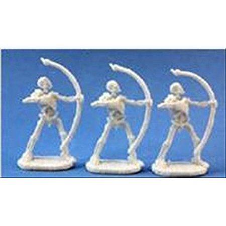 Reaper Miniatures Skeleton Warrior Archer (3) #77245 Bones D&D RPG Mini
