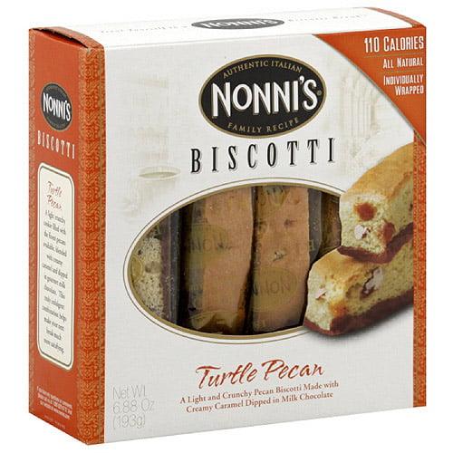 Nonni's Turtle Pecan Biscotti, 6.88 oz, 12ct (Pack of 12) by Nonni's