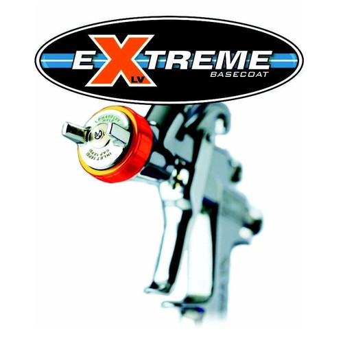 Iwata 5663 Lph400-134lvx Extreme Basecoat Spray Gun With 1000ml Cup