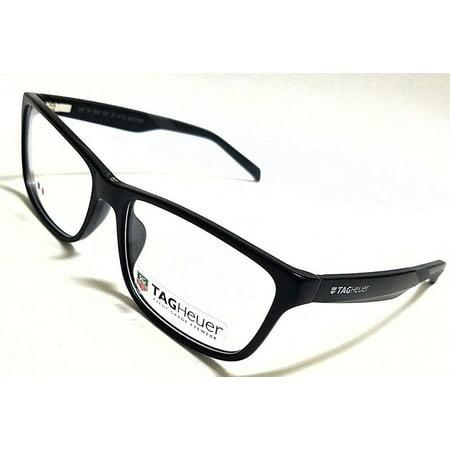 TAG HEUER TH0553 001 Matte Black/Grey 57/16/145 Rx (Tag Eyeglasses)