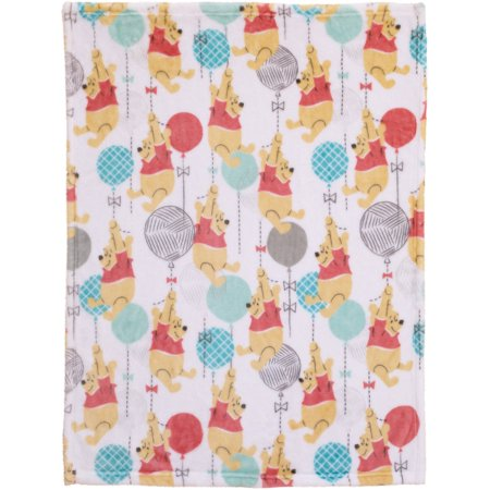 Disney Pooh Best Friends Plush Blanket (Winnie Pooh And Friends)