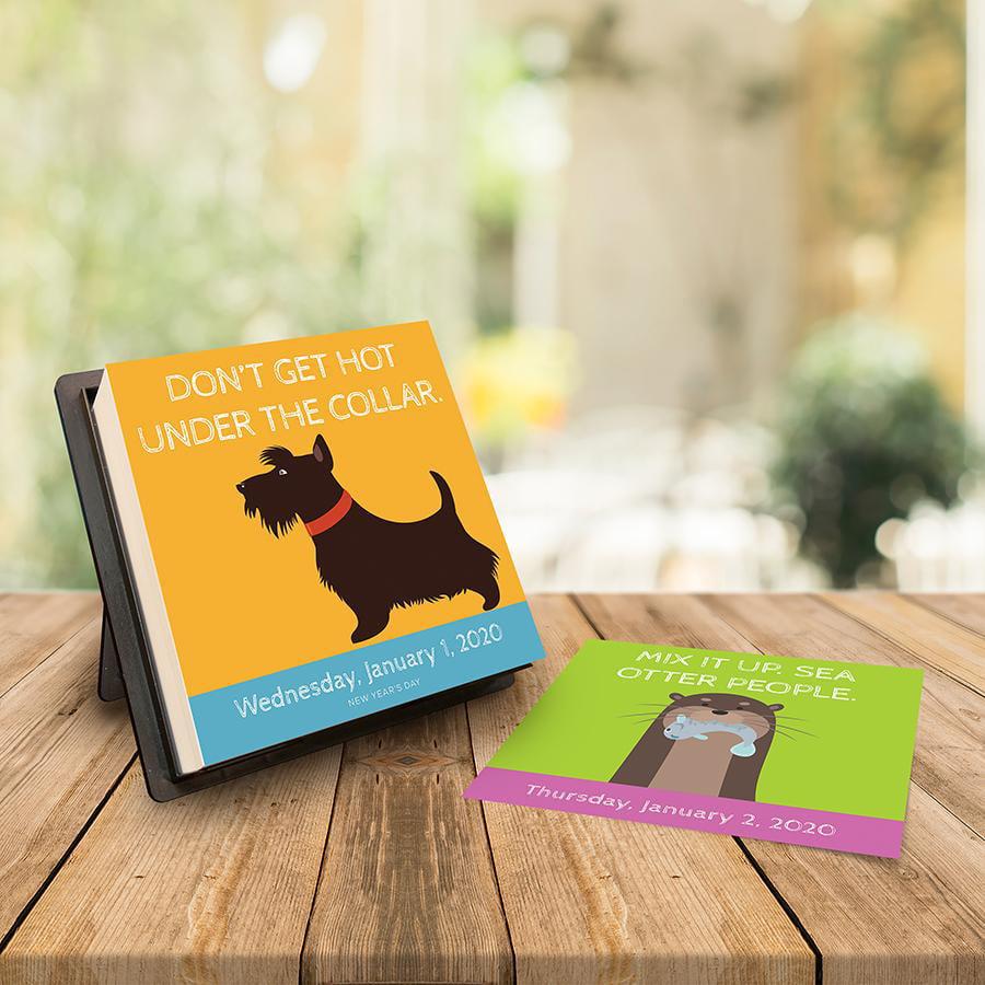 2020 Animal Advice Daily Desktop Calendar by TF Publishing