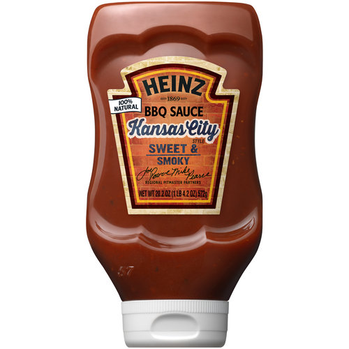 Heinz Kansas City Style BBQ Sauce, 20.2 oz