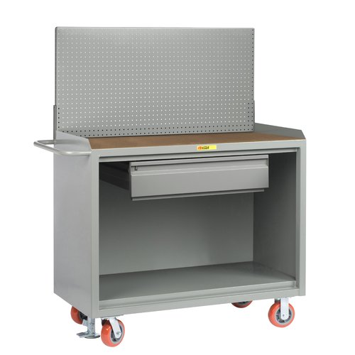 Little Giant USA Mobile Service 54''W Wood Top Workbench