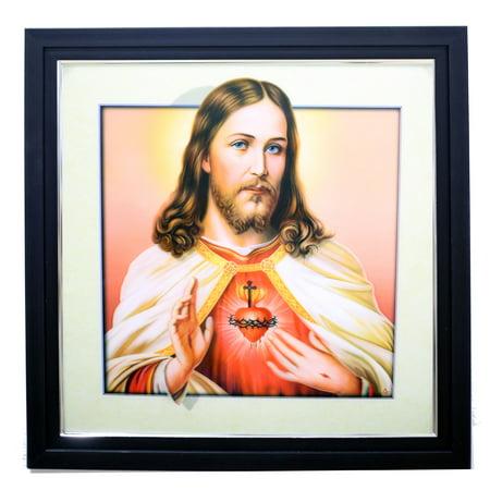 JESUS CHRIST SINGLE 3D LENTICULAR ART PICTURE
