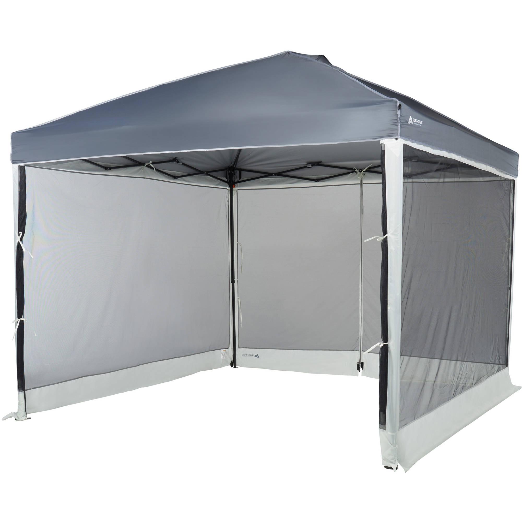 Screen Walls Straight Leg Canopy With 2 Doors Camping Sun