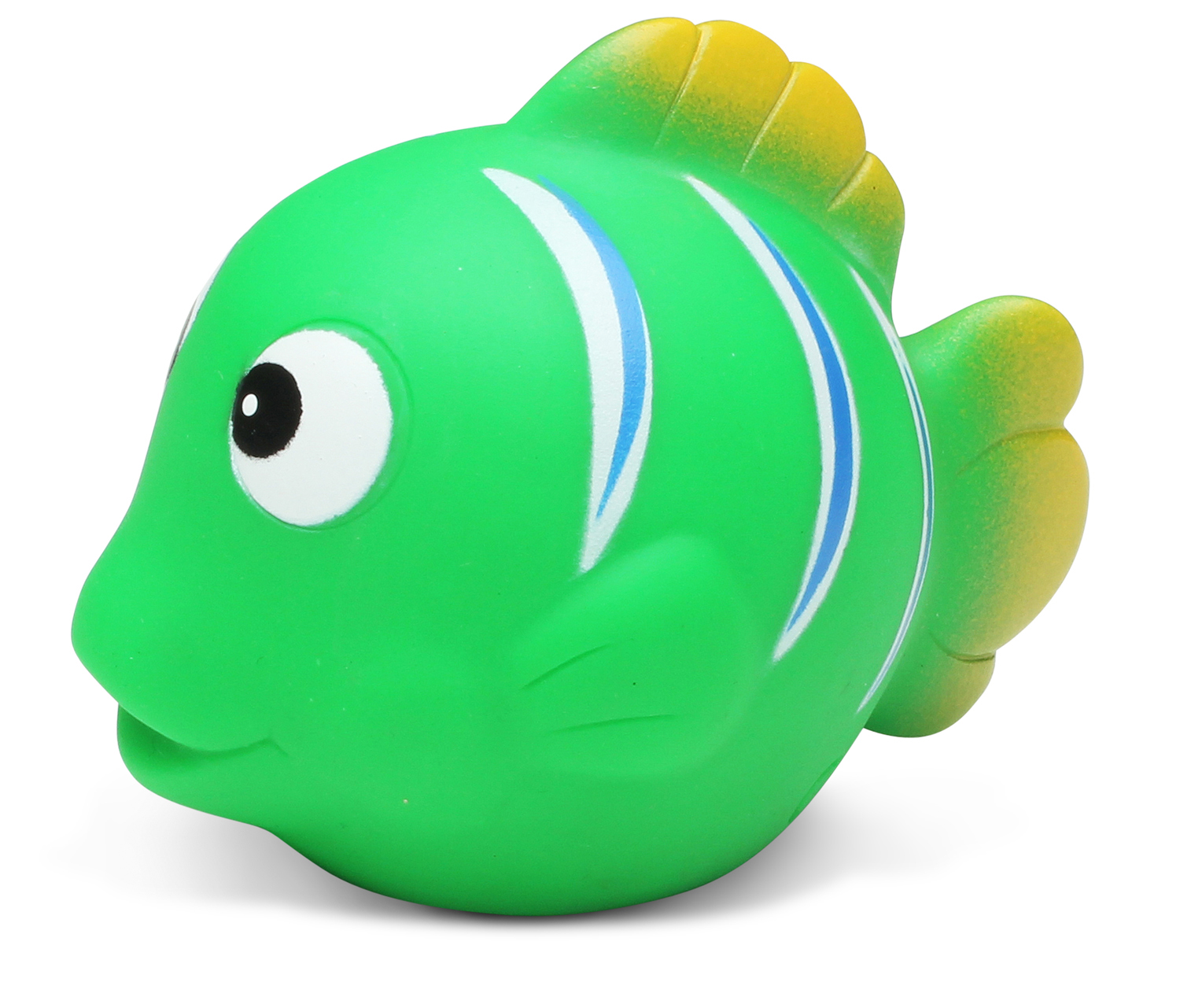 Toddler Bathtime Learning Toy Dollibu Bath Buddies Green Reef Fish Rubber Squirter Toy... by Puzzled Inc